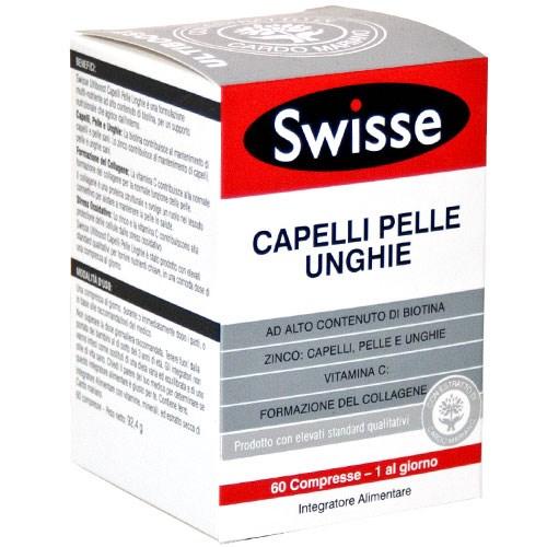 swisse capelli pelle unghie  Integratori alimentari - SWISSE CAPELLI PELLE UNGHIE 60 CPR