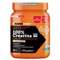 100% CREATINA 250G Named Sport