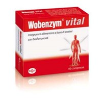 WOBENZYM VITAL 40CPR Named