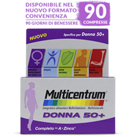 MULTICENTRUM DONNA 50+ 30 COMPRESSE Pfizer