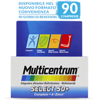 MULTICENTRUM SELECT 50+ 30 COMPRESSE Pfizer